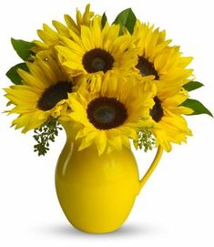 Send flowers from a real Peabody, MA local florist. Evans Flowers has a large selection of gorgeous floral arrangements and bouquets. We offer same-day flower deliveries for flowers. Sunflower Arrangements, Sunflower Bouquets, Sunflower Flower, Floral Arrangements, Sunflower Seeds, Yellow Sunflower, Send Flowers, Summer Flowers, Fresh Flowers