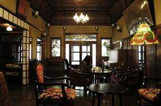 京都・島原 : 築250年の元旅館のカフェバー きんせ旅館, Kyoto