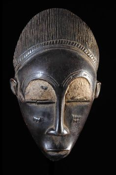 Familly Mask - Baoule - Ivory Coast