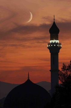 Istanbul, Turkey – World of Light Beautiful Moon, Beautiful World, Beautiful Places, Mekka Islam, Places To Travel, Places To See, Beautiful Mosques, Islamic Architecture, Beautiful Architecture