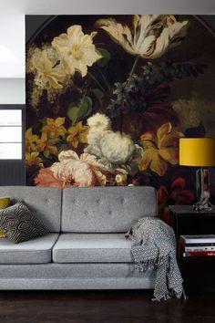 'Spring' Wallpaper Mural from the Royal Academy of Arts collection. Wallpaper Wall, Spring Wallpaper, Bedroom Wallpaper, Interior And Exterior, Interior Design, Royal Academy Of Arts, Decoration Design, Wall Murals, Wall Art