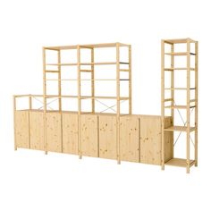 Great storage...easy to paint.  Can buy online.  We could hang and store instruments in open spaces. Measure the wall next to your kitchen door. Only $650. IVAR 5 sections with shelves/cabinets IKEA