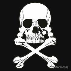 Tee shirt Albator Design Tete de mort noir 16ac4e65b5aa