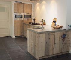 Steigerhouten keuken - De Landelijke Keuken