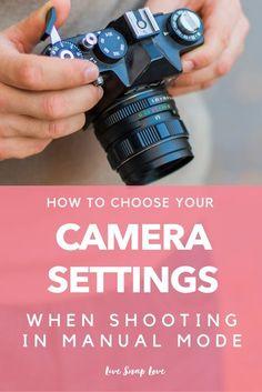 Beginner Photography Tutorial | Manual Mode Settings | Camera Settings | Choosing Settings
