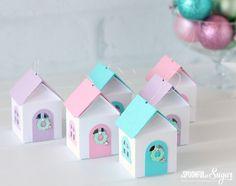 3D Christmas House Ornaments