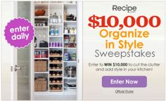 Win $10,000 to Organize Your Home