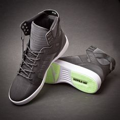 Supra Skytop ! 10.5 not sure they still sale this one but i like the gray