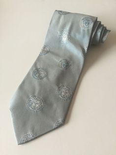 94c4a4e4eb Gianni Versace Tie Blue Color Made In Italy 100% Silk  Gianni  NeckTie  Versace