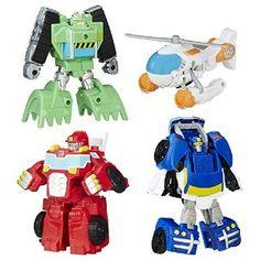 Boys - Amazon.com: Playskool Heroes Transformers Rescue Bots Griffin Rock Rescue Team: Toys & Games