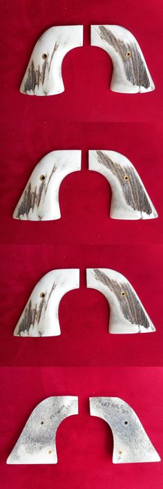 Vintage Gun Parts 71141: European Red Stag Gun Grips For 2001 Ruger Xrn-3Red Single Six Revolver BUY IT NOW ONLY: $195.0