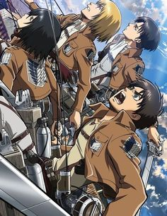 Attack on Titan is a Japanese manga series written and illustrated by Hajime Isayama.
