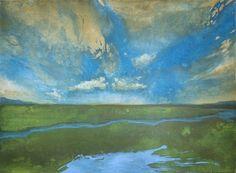 Romantisch II, 2010, 150x110 cm, Acryl auf Nessel