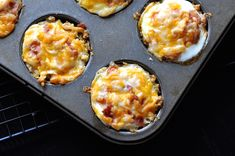 Put that leftover stuffing to good use with this easy cheesy brunch muffin.