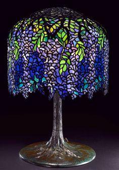Shining A Little Light On Art Nouveau Icon Louis Comfort Tiffany ampersand vintage modern
