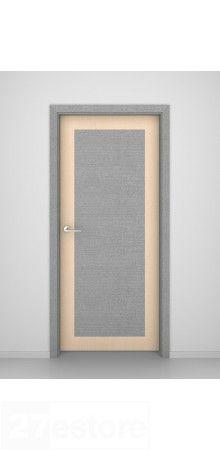 Grey Oak-Bleached Oak Interior Flush Doors  #oak #door #interior