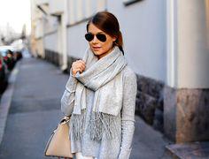 @Mariannan & Balmuir Highland cashmere scarf. www.balmuir.com