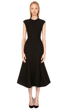 Fitted Flounce Dress by Vika Gazinskaya