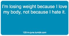 """To all the people who say """"you don't need to lose weight, you are already skinny""""...yes, i may not have a lot of fat on me, but ****I**** want to be thin with muscle!!! Strong is the new skinny!!!"""