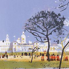 'Horse Guards Parade' by Edwin La Dell ARA (C257)