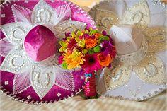 sombrero at wedding