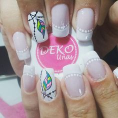 Visita nuestro spa en Medellín, centro comercial plazuelas de San Diego, local Tel 2329200 Whatsapp Deko por As… Beautiful Nail Designs, Beautiful Nail Art, Cute Nails, Pretty Nails, Hair And Nails, My Nails, Nail Art Designs, Romantic Nails, New Nail Art