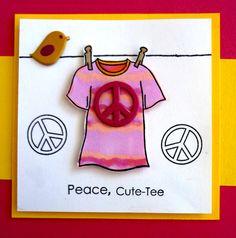 Summr Lineup - Peace Cute-Tee