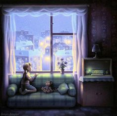 Мобильный LiveInternet Зимнее окно. | A-delina - Дневник A-delina |