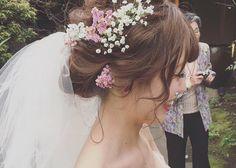 \ 大人気カリスマ美容師 / インスタで話題の【yuu.rire】さんの最新花嫁ヘアはこれだ!♡のトップ画像