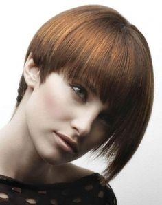 Chic Short Round Crop Hair Style 2014