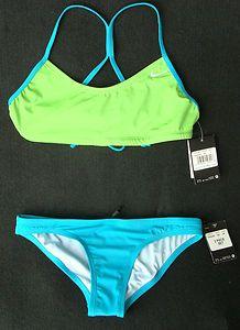 NWT Nike Two-Piece Swimsuit Women's size Medium Bathing suit Bikini - SOLD!