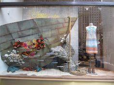 anthropologie sea world windows, new york visual merchandising