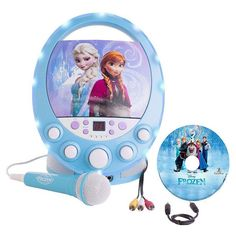 "Frozen Disney Disco Party CD+G Karaoke with Light Sing along with Anna, Elsa, Kris off, Sven and Olaf to ""Let It Go"" and the rest of their songs. The Disney Disney Frozen Toys, Lego Disney, Disney Toys, Christmas Gifts For Kids, Christmas Toys, Christmas 2014, Frozen Christmas, Christmas Shopping, Christmas Presents"