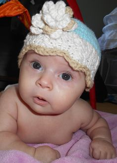 Knitted hat, pattern from Etsy Knitted Hats, Crochet Hats, To My Daughter, Nursery, Pattern, How To Make, Etsy, Fashion, Knitting Hats