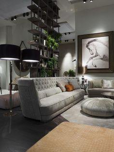 LUXURY SOFA | Luxury caption sofa by Vittoria Frigerio | bocadolobo.com/ #modernsofa #sofaideas