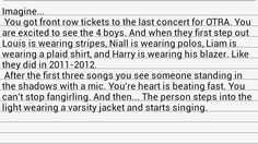 Wow I cried reading this.. and that would be the best day of my life!! <3 I want to see the boys dressed up like this again! <3