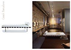 Couch Barcelona - Mies Van Der Rohe #mies #design #chair #casadasamigas #barcelona