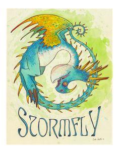 Wie trainieren deinen Drachen 'Stormfly' Bild von charamath