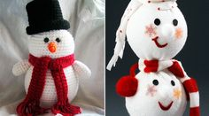 Snowman Christmas decorations - In love with decor