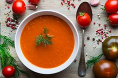 Turmeric, Tomato & Black Pepper Soup to Fight Cancer & Inflammation