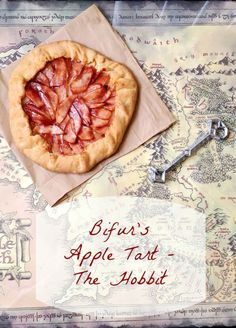 Bifur's Raspberry Jam and Apple Tart - The Hobbit Recipe Good Food, Yummy Food, Dessert Recipes, Desserts, Dessert Ideas, International Recipes, Food Items, The Hobbit, Food Inspiration