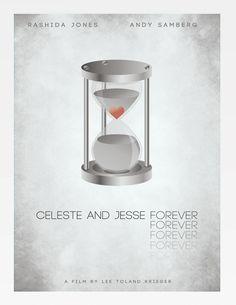 Celeste and Jesse Forever Celeste And Jesse Forever, Forever Movie, Rashida Jones, Top Movies, Minimalist Poster, Tv Series, Films, Movie Posters, Wall Decor