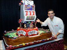 buddy velastro the cake boss for running the most successful bakery in . Paintball Cake, Paintball Birthday, Cake Boss Buddy, Buddy Valastro, Pasteles Cake Boss, Cake Boos, Extreme Cakes, Realistic Cakes, Carlos Bakery