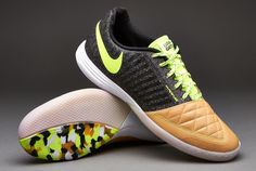 Nike Football Boots - Nike Lunargato II - Fives - Street - Soccer Cleats - Balsa-Volt-Black