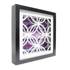 Circles Shadowbox Med, now featured on Fab. - shouldn't be too difficult to make things like this....