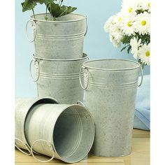 Ask Maggie: Galvanized Buckets