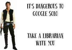 Library stuff, Google and Harrison Ford together in one pin... swoon!