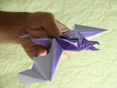 (HD) Snake Dragon origami (Marc Vigo)