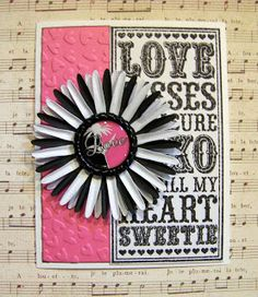 Ann Greenspan's Crafts: Cards with Bottle Cap Embellishments -- see my bottle cap board also