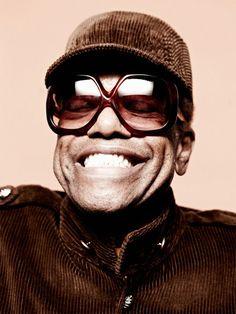 Bobby Womack in handmade Oliver Goldsmith Sunglasses for Clash Magazine - #sunglasses #eyewear #bobbywomack #olivergoldsmith